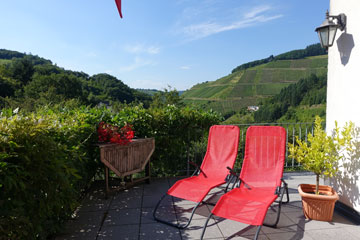 Pension Zell Mosel - Terrasse